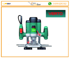 Fresatrice verticale VERTO pantografo elettrico con 12 frese 1200W  52g710
