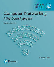 Computer Networking: A Top-Down Approach by James Kurose, Keith Ross (Mixed medi
