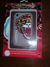 Ed hardy christian audigier protective skin for iphone new in box tiger