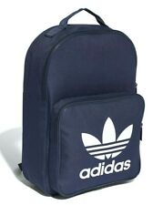 Adidas Originals Classic Trefoil Backpack School Sports Gym College Navy Unisex