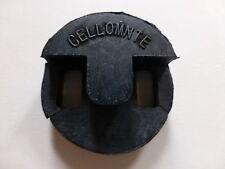 Cello mute, cerchio stile, per 4/4 O 3/4, nero, articolo di qualità, UK SPEDIZIONE!