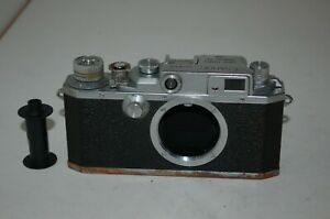 Canon IID /2d Vintage 1952 Japanese Rangefinder Camera. Service. 118486. UK Sale