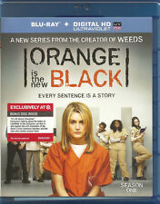 Netflix's ORANGE IS THE NEW BLACK Season One [Blu-ray, 2014] NEW! TARGET-EXCL.