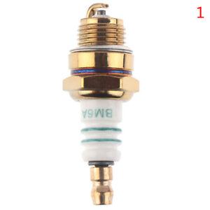 1PC BM6A Spark Plug  replaces M7/L7T/CJ8/1560  2 stroke Chainsaw Blower Trimmer