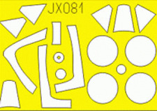 EDUARD JX081 Masking Sheet for Hasegawa® Kit P-47M in 1:32
