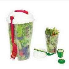 Fresh Salad To-Go  Food Storage Bpa For Lunch Container Serving Bottle Shaker