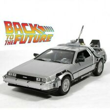 COCHE REGRESO AL FUTURO DELOREAN BACK TO THE FUTURE WELLY REPLICA 1:24