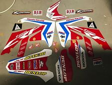 HONDA 2009 - 2012 CRF 450 R / 2010-2013 CRF 250 R MOTOCROSS DIRT BIKE MX DECAL