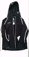 Phenix Womens Orca Insulated Ski Snowboard Jacket - Black Size 10 Waterproof
