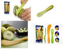 3PCS Fruit Tools Set - Avocado, Kiwi / Citrus Peeler, Melon Slicer Kitchen Tools