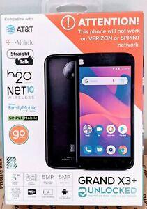 BLU Grand X3+ Plus Factory & Network Unlocked G330U 16GB  Smartphone SEALED OREO