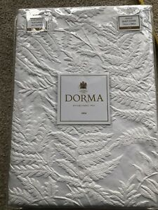 Dorma Fern White Jacquard Single Duvet Cover BNIB £60!!