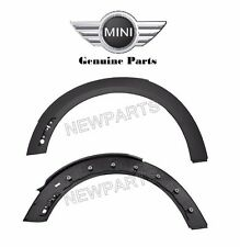Mini Cooper R56 R55 R57 Front Left Right Wheel Arch Trim Set Genuine NEW