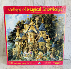 College of Magical Knowledge 1500 piece puzzle 26 in X 32 in