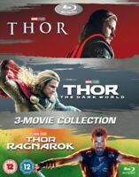 Nuovo Thor Trilogia 1 A 3 Film Collection Blu-Ray