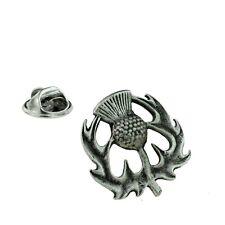 Scottish Thistle Pewter Lapel Pin Badge XDHLP1072