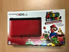 Nintendo 3DS XL Portable Gaming Console - Red and Black