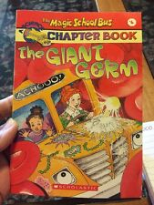 The Magic School Bus Science Chapter Book #6: The Giant Germ, Anne Capeci, Good