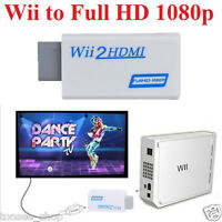 Full HD HDMI 1080P Converter Adapter With 3.5 mm Audio Output For Wii 2
