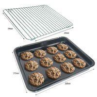 HOTPOINT Genuine Oven Cooker Baking Tray + Wire Shelf Rack CREDA CANNON