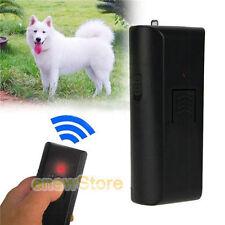 Ultrasonic Dog Pet Aggressive Repeller Training Safe Humane Stop Barking Device