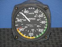 Vintage Aeromarine Instruments #544 Airspeed Indicator Gauge 1968