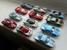 Hot Wheels job lot x12 toy cars Ford GT40, GT, GTX1, GT90, some excellent