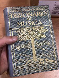 B56  Dizionario della musica terza edizione Paravia della corte gatti