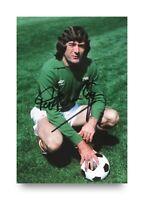 Pat Jennings Hand Signed 6x4 Photo Tottenham Hotspur N. Ireland Autograph + COA