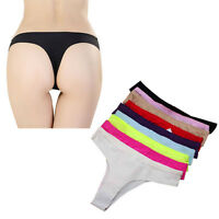 Hot Pack of Women's Sexy Lace Thongs Ladies Underwear Panties Knickers Seamless