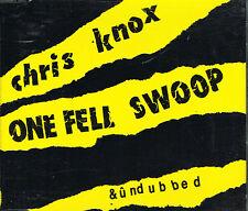 CD maxi: JChris Knox: one fell swoop & ûndubbed. flying nun