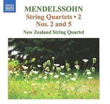 Mendelssohn: String Quartets, Vol. 2, New Zealand String Quartet (CD)