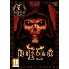 Diablo II (PC: Mac, 2000) - 3 Disc Set-libre de Reino Unido P&p - Buen Estado General