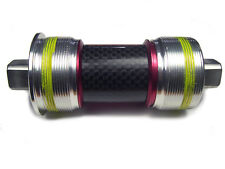 OMNI Racer Titanium Ti Ceramic JIS Square Taper Bottom Bracket: 68x116mm ENGLISH