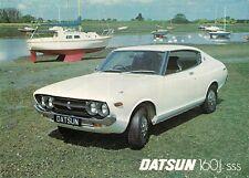 DATSUN NISSAN VIOLET 160J SSS Hardtop 1977 UK Opuscolo Vendite sul Mercato Opuscolo