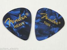 Médiators Fender pour guitare et basse
