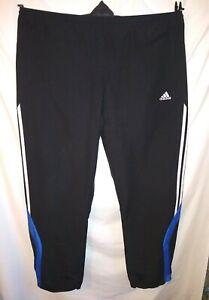 Adidas Black Tracksuit Bottoms Size XL