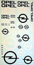 Opel #3 Sponsors Embleme Sponsorenbogen 1:43 Decal Abziehbilder