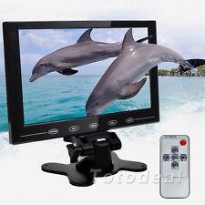 "9"" HD Ultrathin TFT LCD Color Monitor HDMI PC CCTV Car Video Screen w/ Speaker"