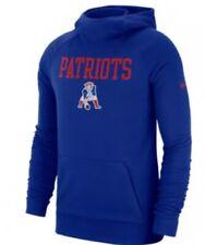 Nike Men's New England Patriots Lightweight Historical Hoodie Sweatshirt XL NFL