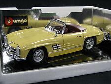 Bburago Mercedes-Benz 300 SL Roadster 1:18 Beige (JS)