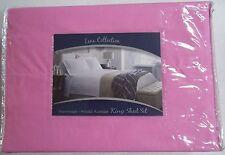 Lena Collection Pink King Sheet Set