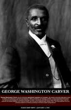George Washington Carver Poster Black History Print (11x17)