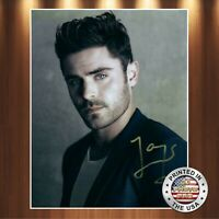 Zac Efron Autographed Signed 8x10 Photo (17 Again) REPRINT