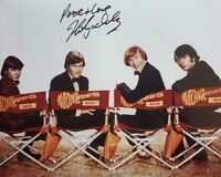 """""""The Monkees"""" Micky Dolernz Hand Signed 8x10 Color Photo Autograph World COA"""