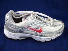 Nike 8.5M white pink silver running womens ladies running sneakers  318175-161