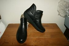 New Fit Flop FitFlop Womens Black  Leather Supermod Ankle Boot II US 7 EUR38