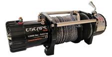 Escape 12000lbs 12,0X [5443kg] Electric Winch 12V Offroad 4x4