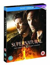 SUPERNATURAL Complete Series 10 BLU RAY All Episodes Tenth Season UK Release New