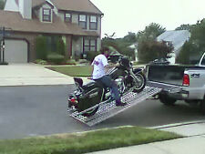 Aluminum Ramp 8 ft.- Motorcycles Onto Trucks USA Ramps - VIDEO Demo Inside